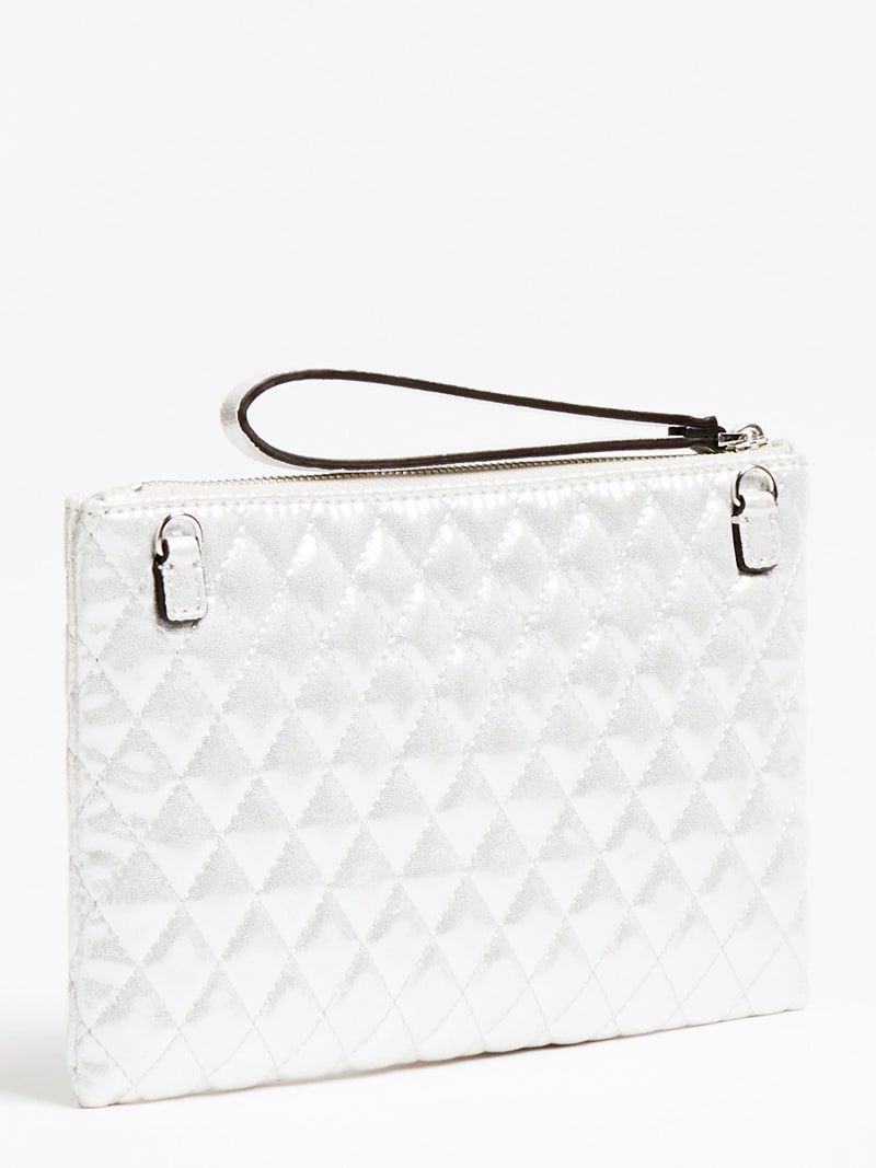 DINNER DATE QUILTED CLUTCH image number 2