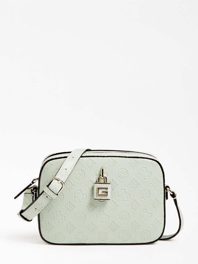 KAMRYN EMBOSSED LOGO CROSSBODY image number 0