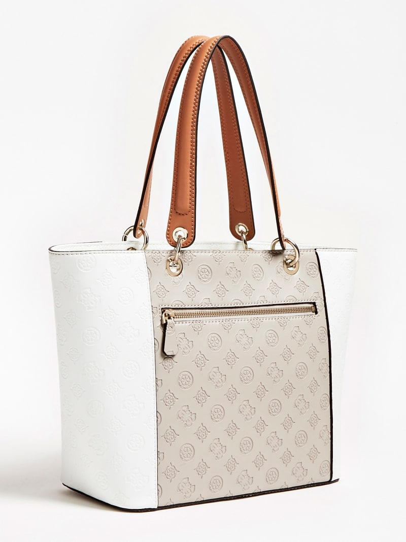 KAMRYN EMBOSSED LOGO SHOPPER image number 2