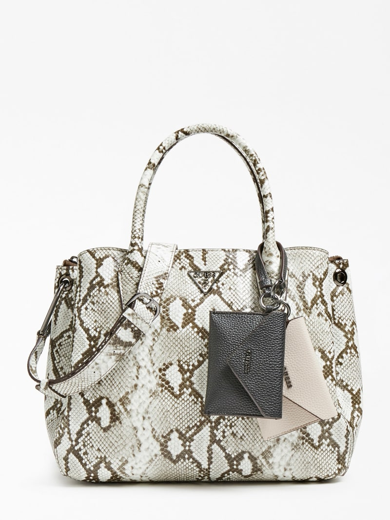KIRBY PYTHON PRINT SHOULDER BAG image number 0