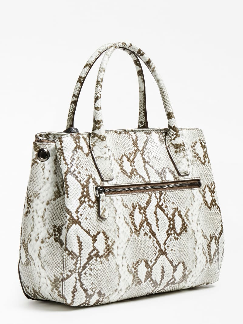 KIRBY PYTHON PRINT SHOULDER BAG image number 2