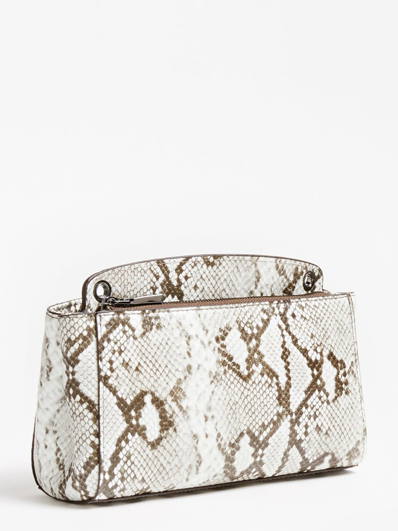 KIRBY PYTHON PRINT MINI CROSSBODY image number 2