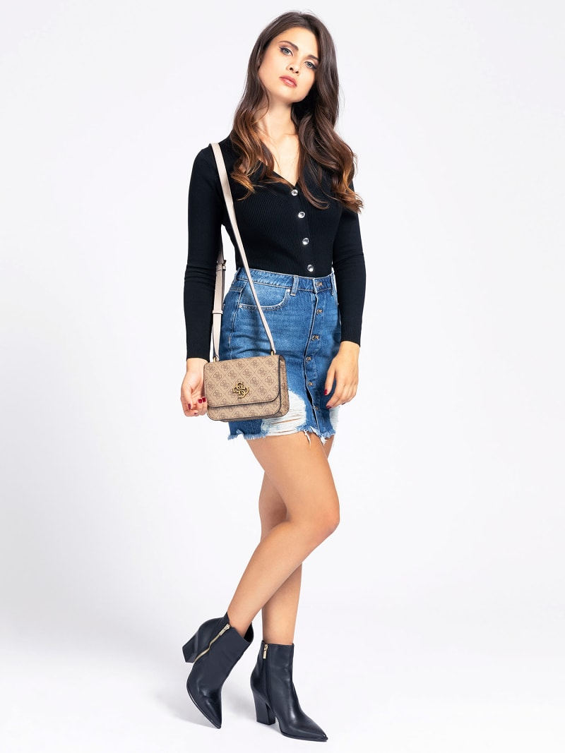 NOELLE 4G LOGO MINI CROSSBODY image number 1