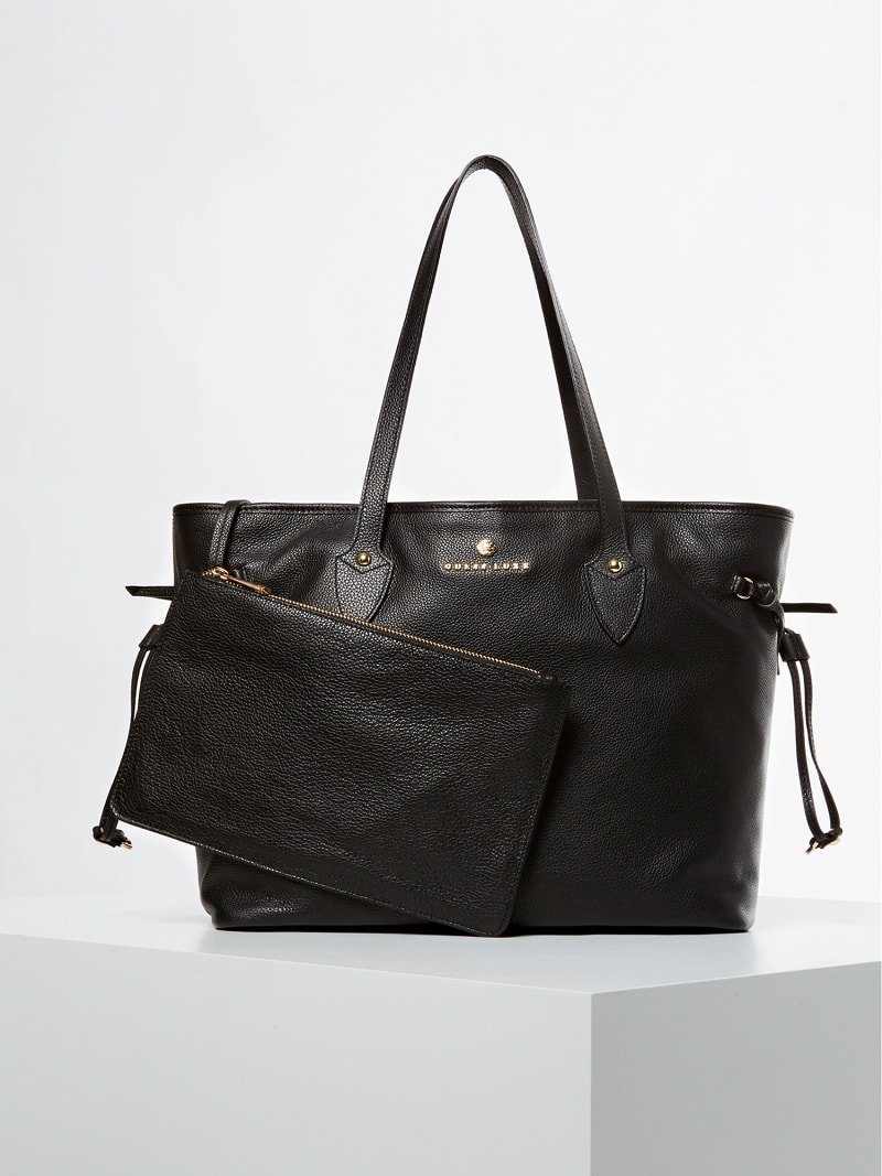 SOFIE REAL LUXE LEATHER SHOPPER image number 0