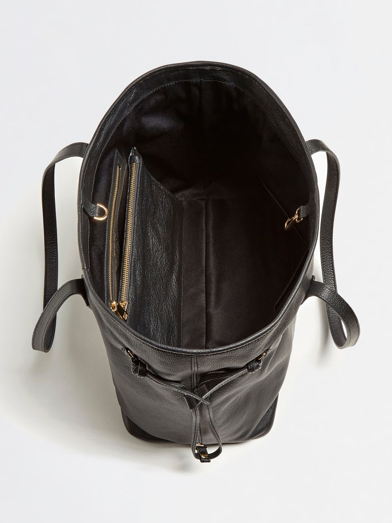 SOFIE REAL LUXE LEATHER SHOPPER image number 3