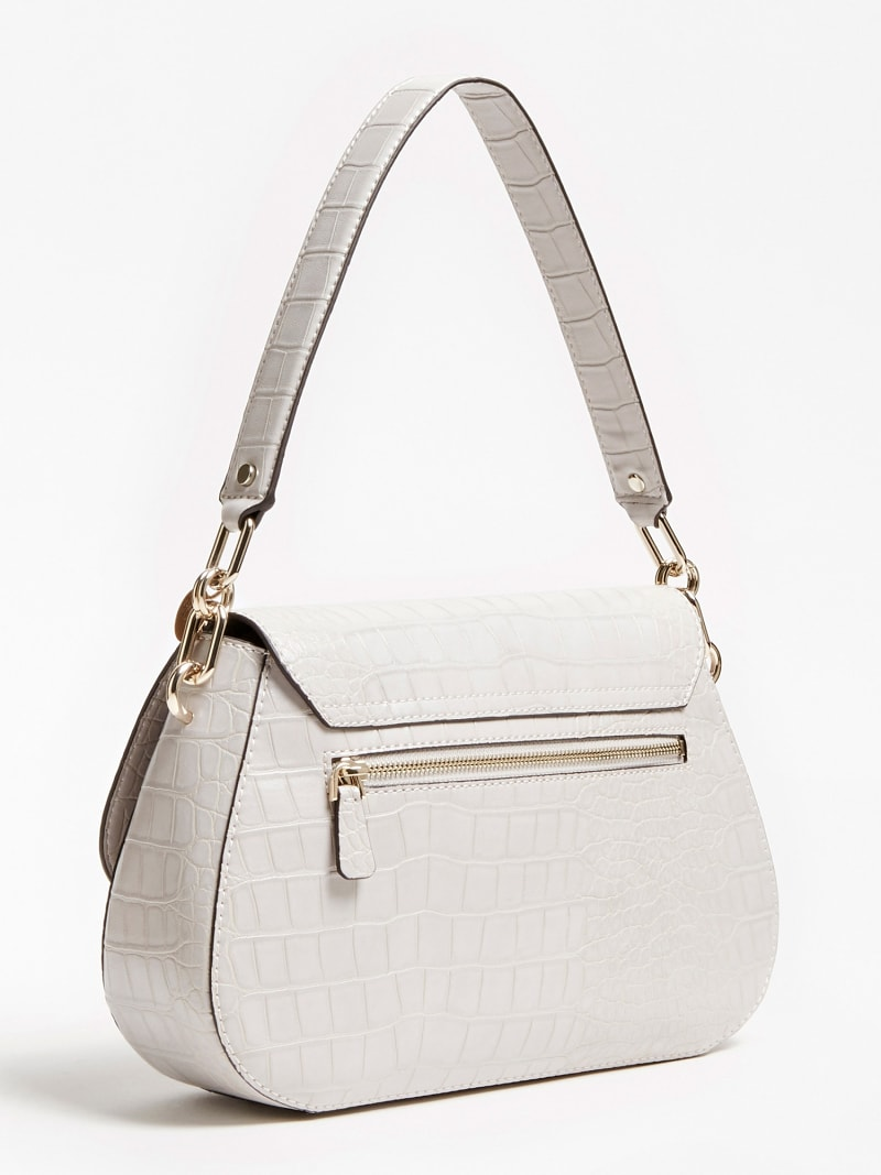 TRIPLE G CROC PRINT SHOULDER BAG image number 2