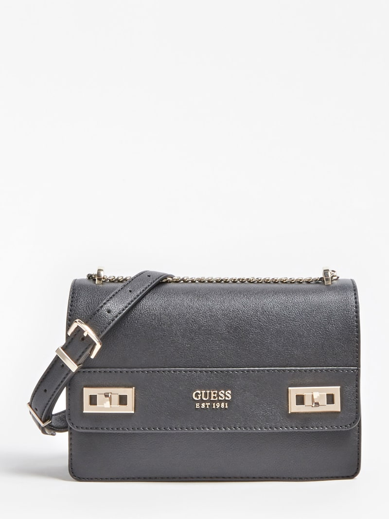 KATEY TWO-TONE STRIP CROSSBODY image number 0