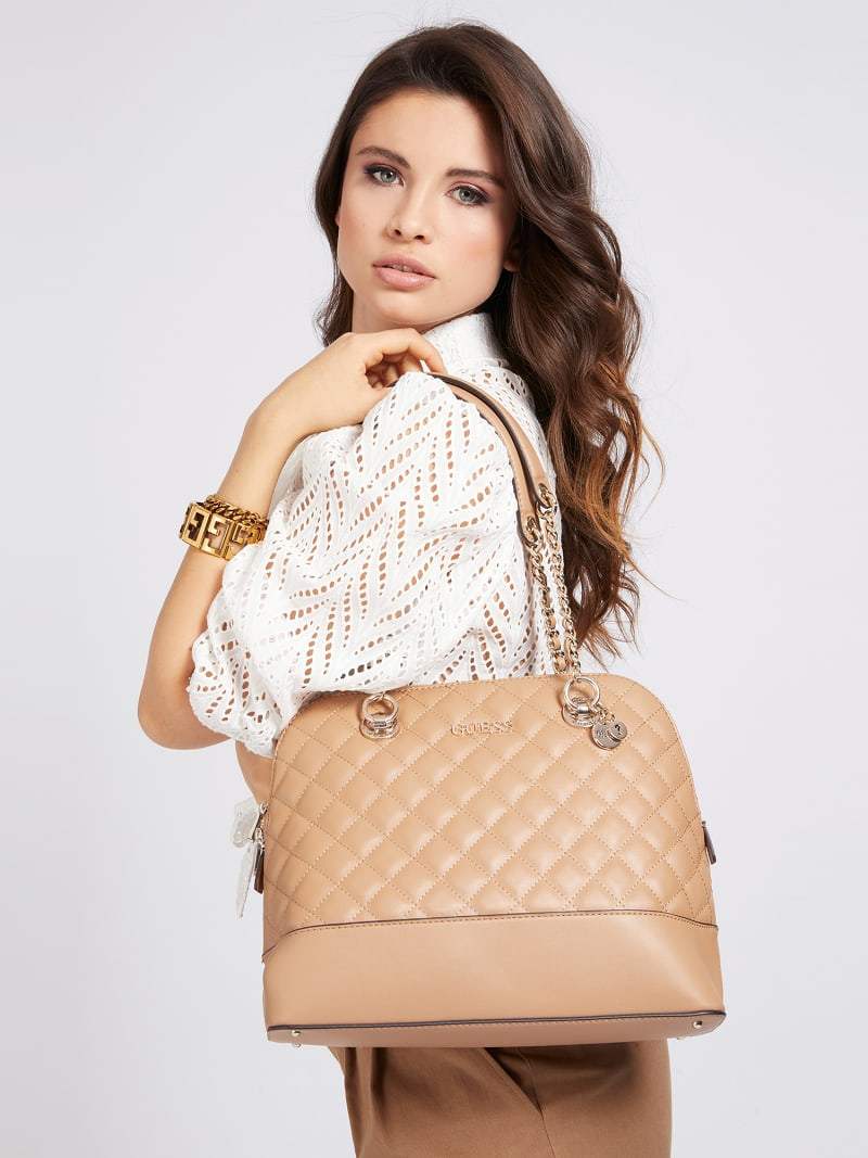 ILLY QUILTED SHOULDER BAG image number 1