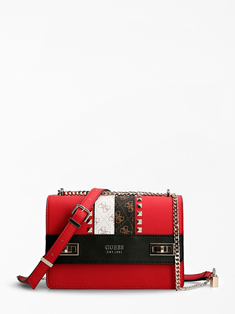 KATEY LOGO STRIP CROSSBODY BAG image number 0