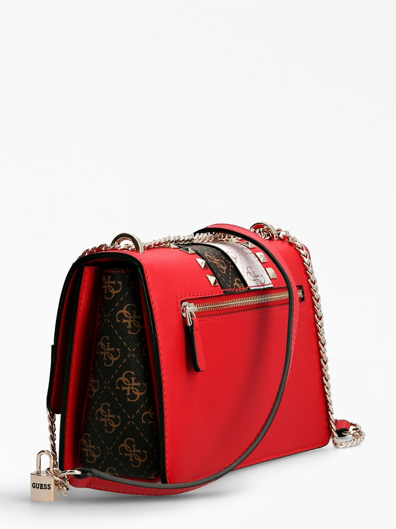 KATEY LOGO STRIP CROSSBODY BAG image number 1