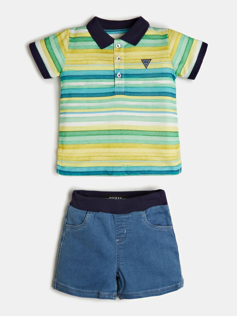 POLO AND SHORT SET image number 0