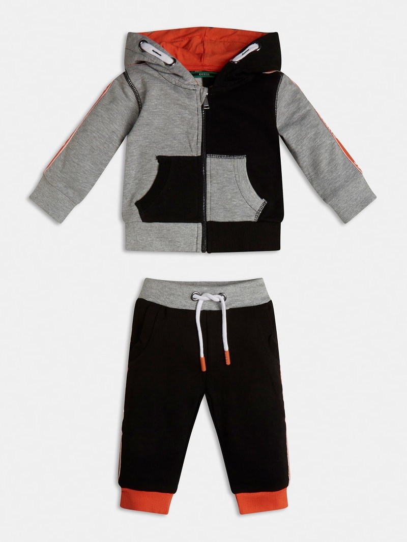 LOGOED ACTIVE TOP AND PANT SET image number 0