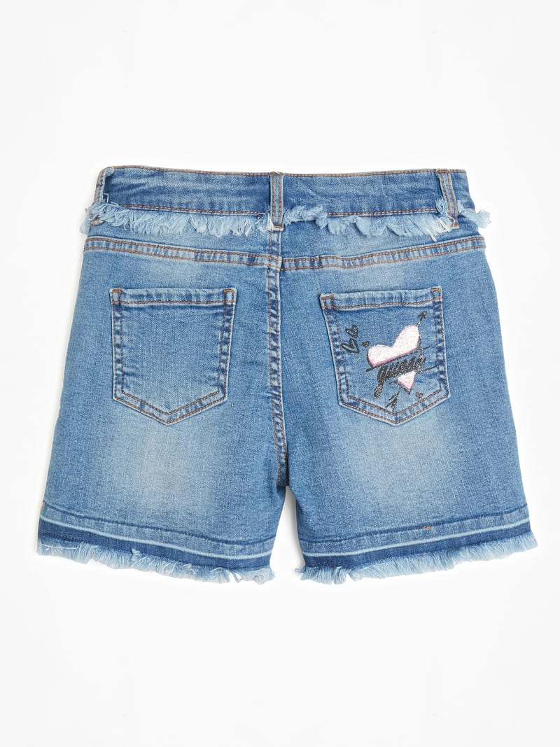 EMBROIDERY DENIM SHORT image number 1