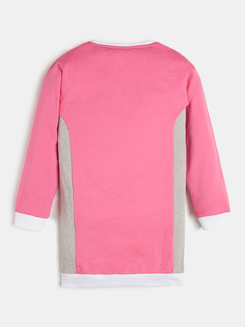 TRIANGLE LOGO COLOR BLOCK DRESS image number 1