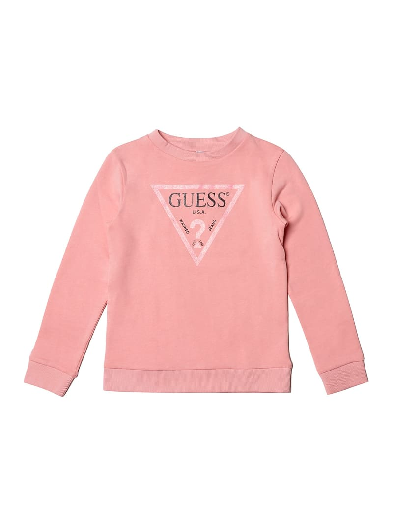 SWEATSHIRT WITH FRONT LOGO TRIANGLE image number 0