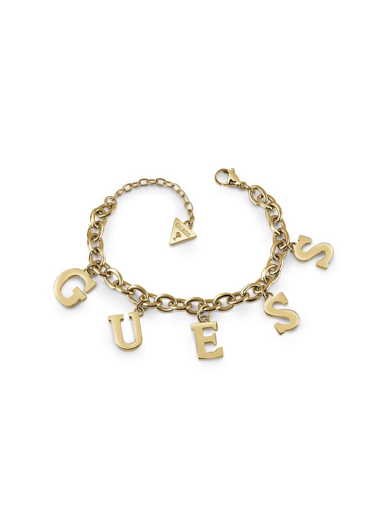 FOLLOW MY CHARM LOGO BRACELET image number 0
