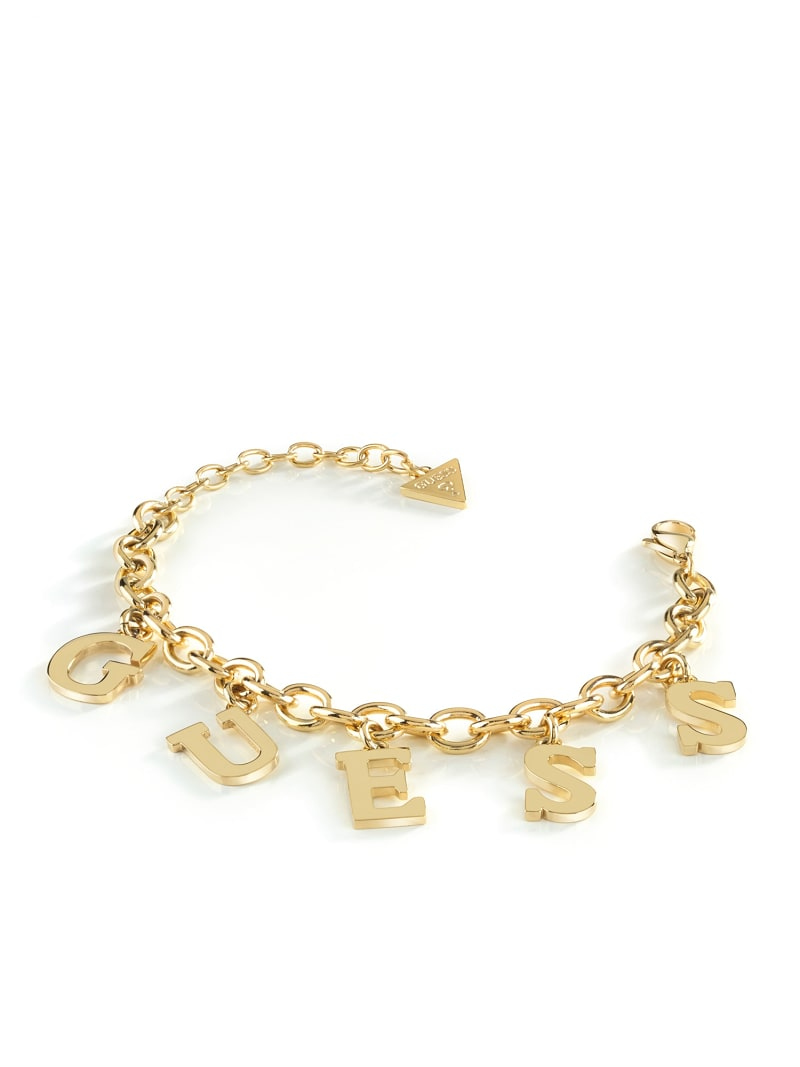 FOLLOW MY CHARM LOGO BRACELET image number 1