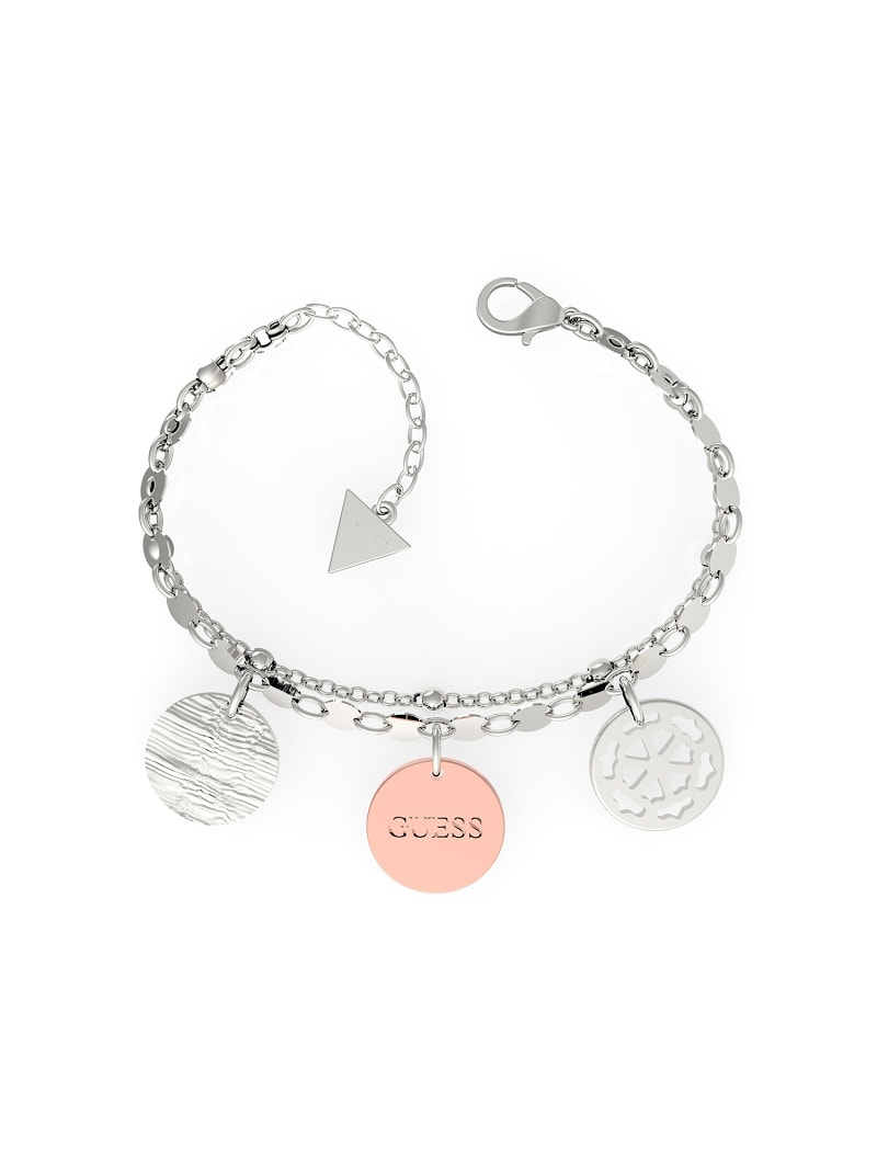 PEONY ART COIN BRACELET image number 0