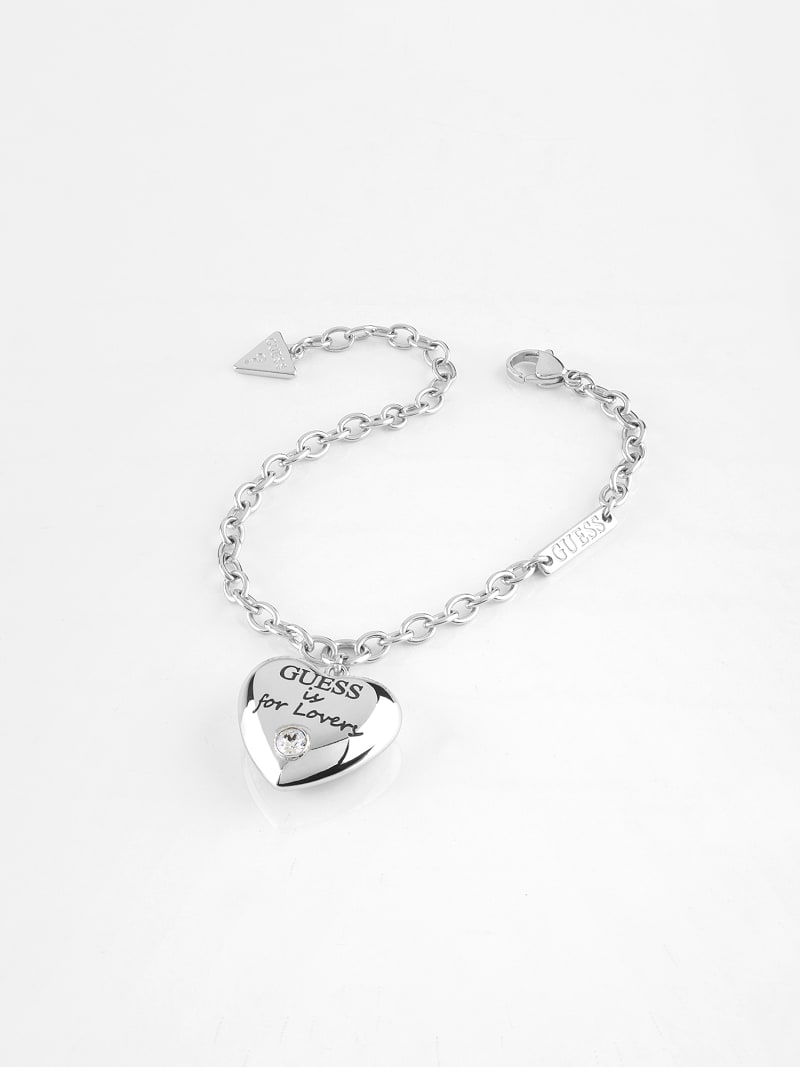 """GUESS IS FOR LOVERS"" BRACELET image number 0"