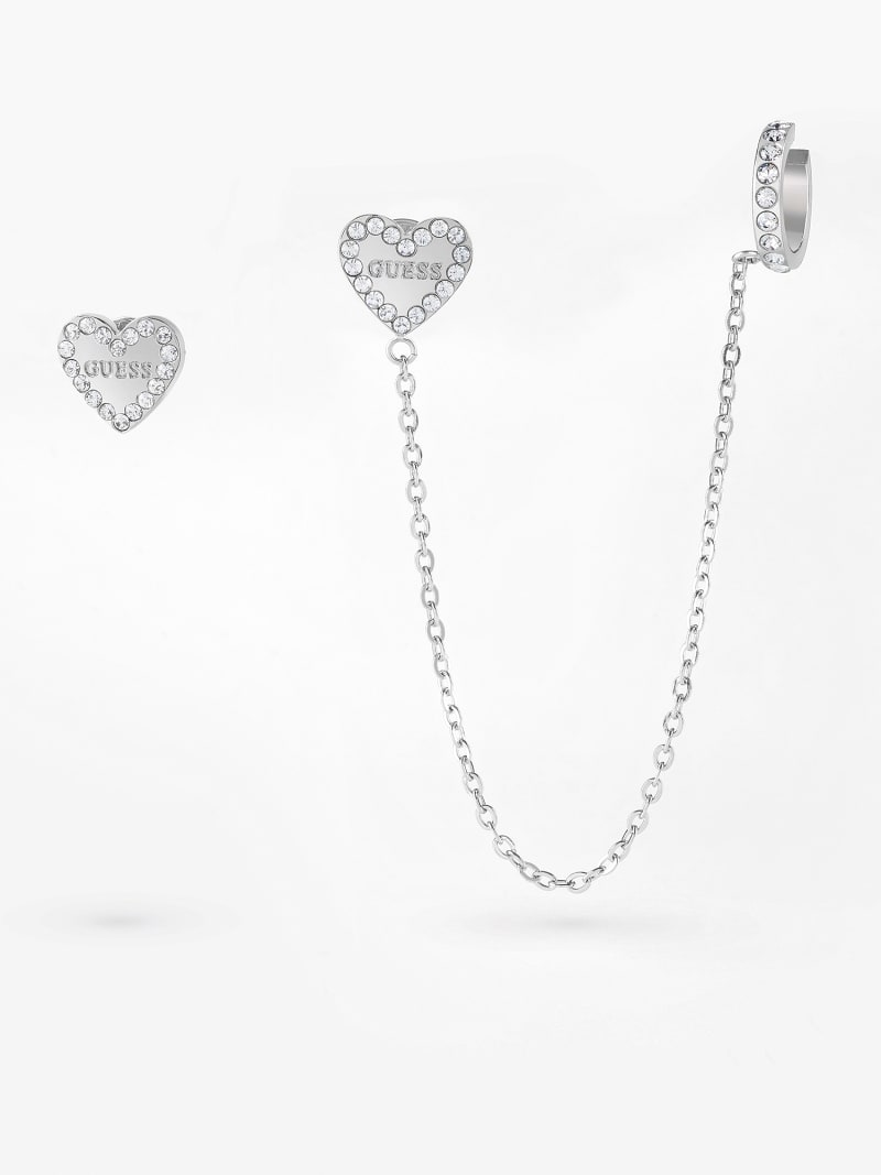 'HEART TO HEART' EARRINGS image number 0