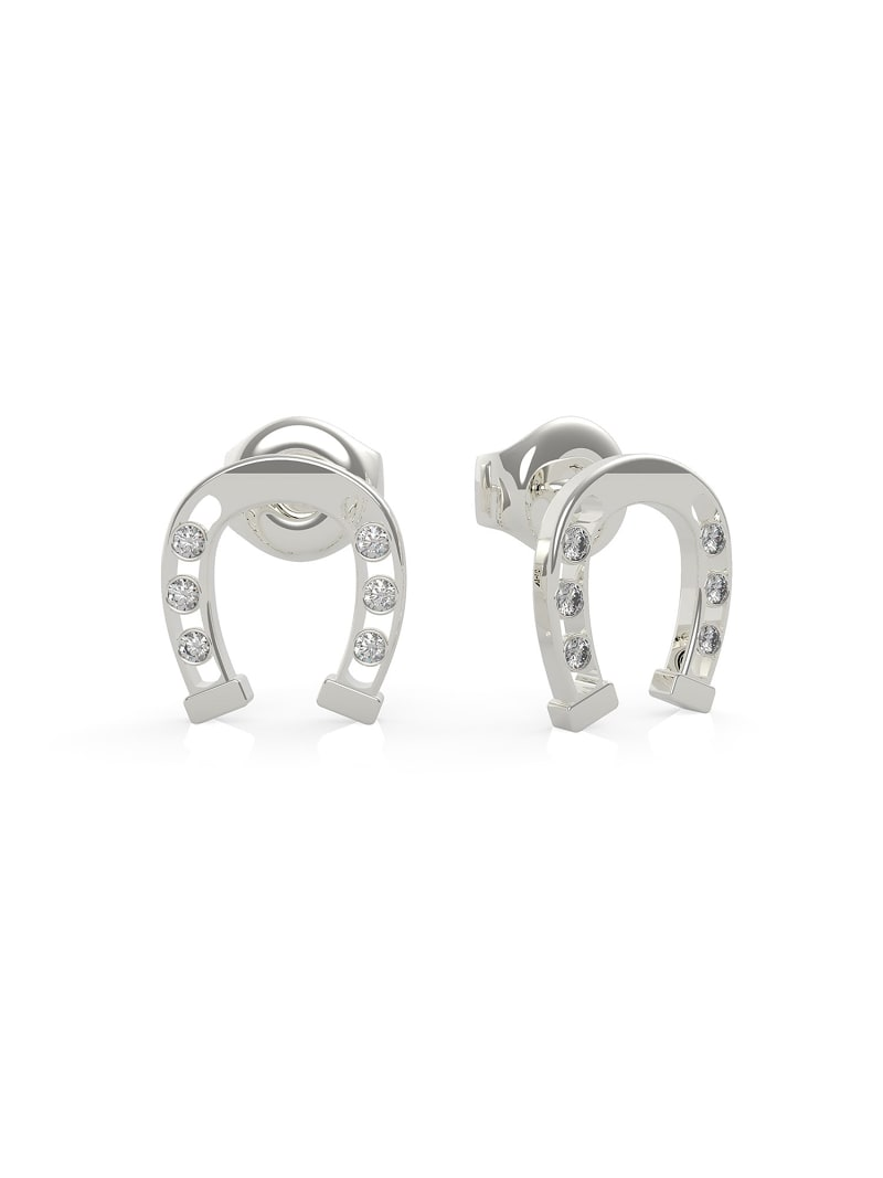 GET LUCKY HORSESHOE EARRINGS image number 0