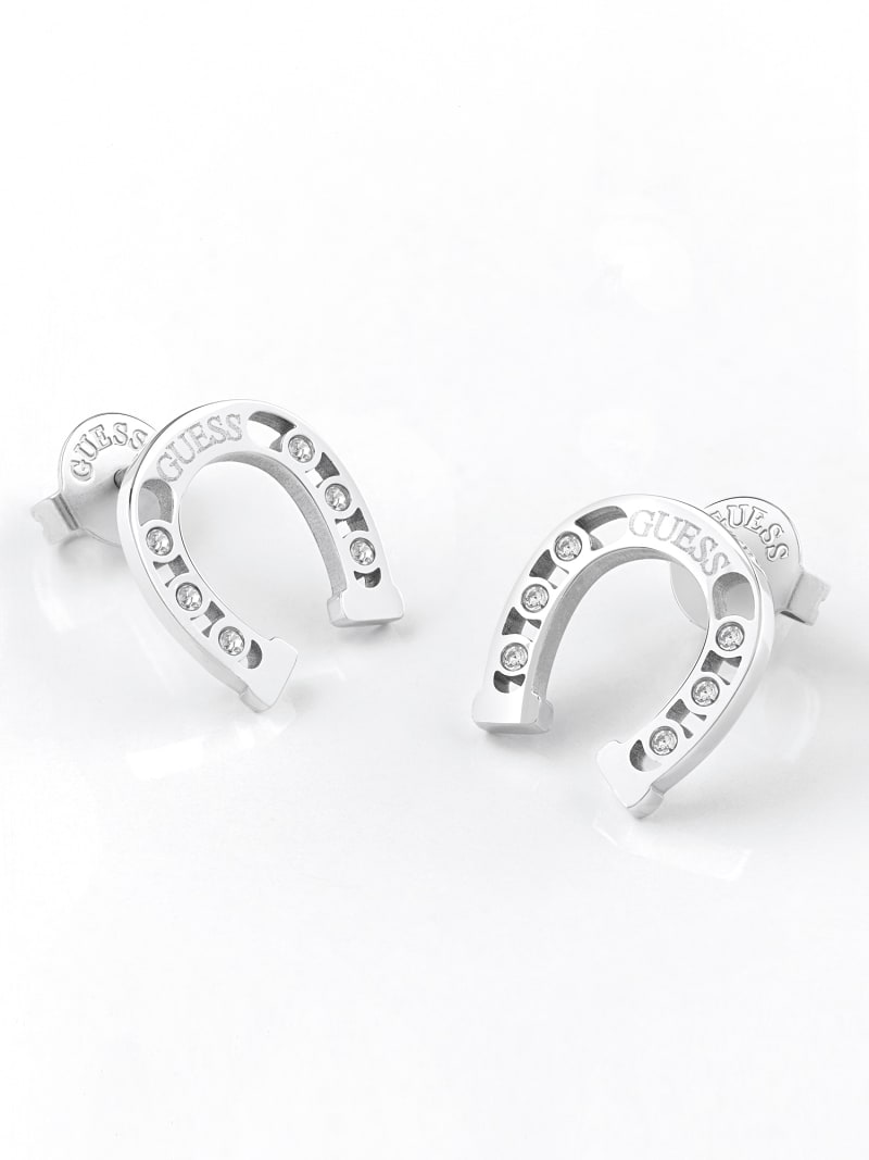 GET LUCKY HORSESHOE EARRINGS image number 1