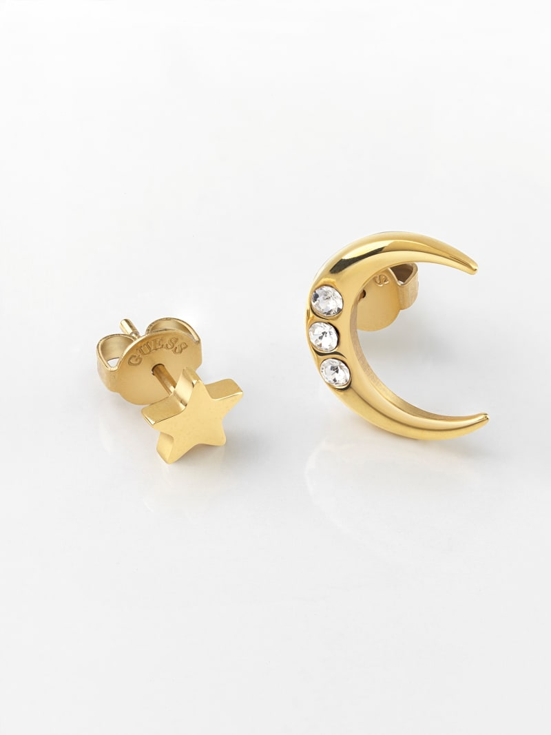 GET LUCKY MOON AND STAR EARRINGS image number 1