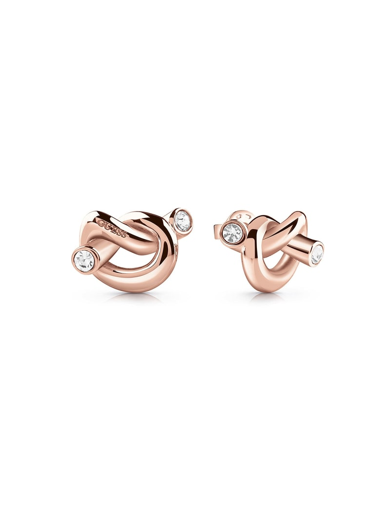 GUESS KNOT KNOT EARRINGS image number 0