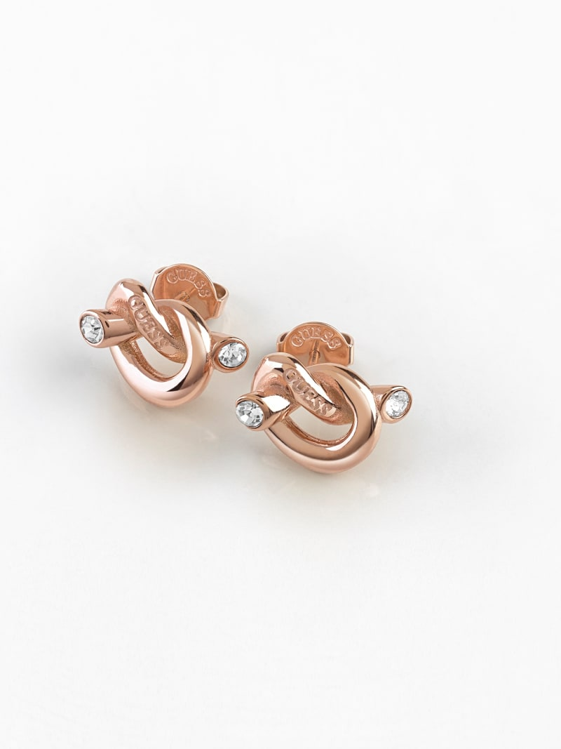 GUESS KNOT KNOT EARRINGS image number 1