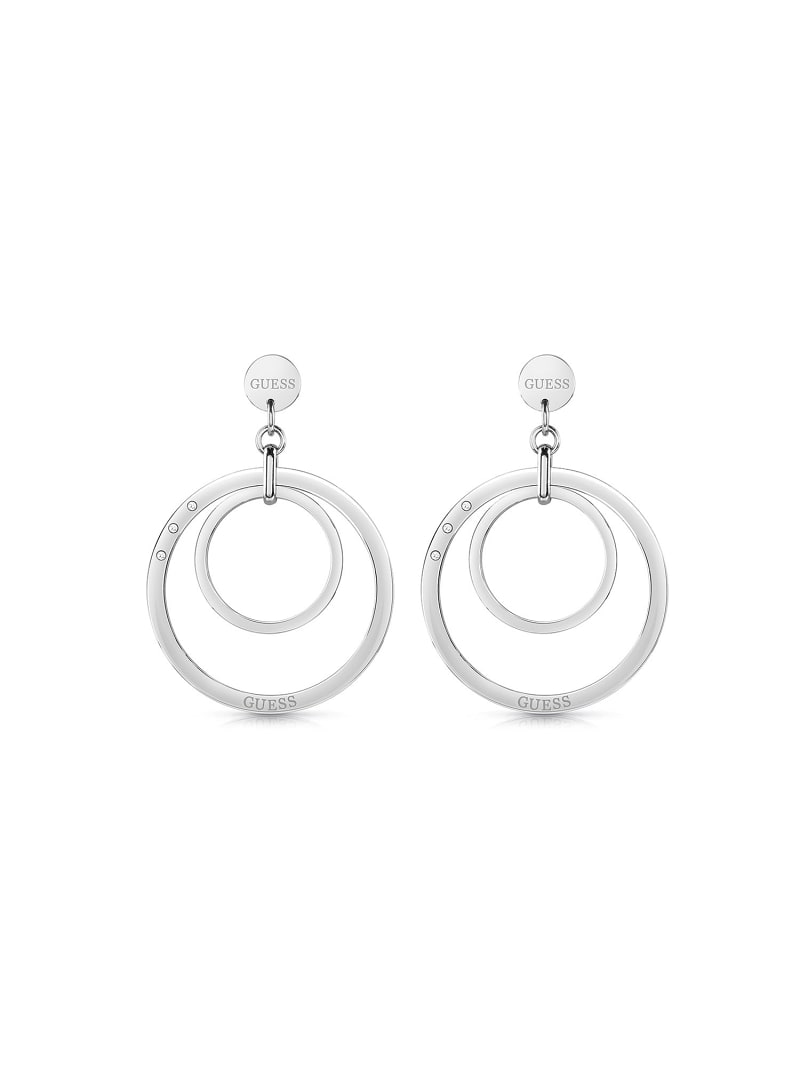 ETERNAL CIRCLES CIRCLE PENDANT EARRINGS image number 0
