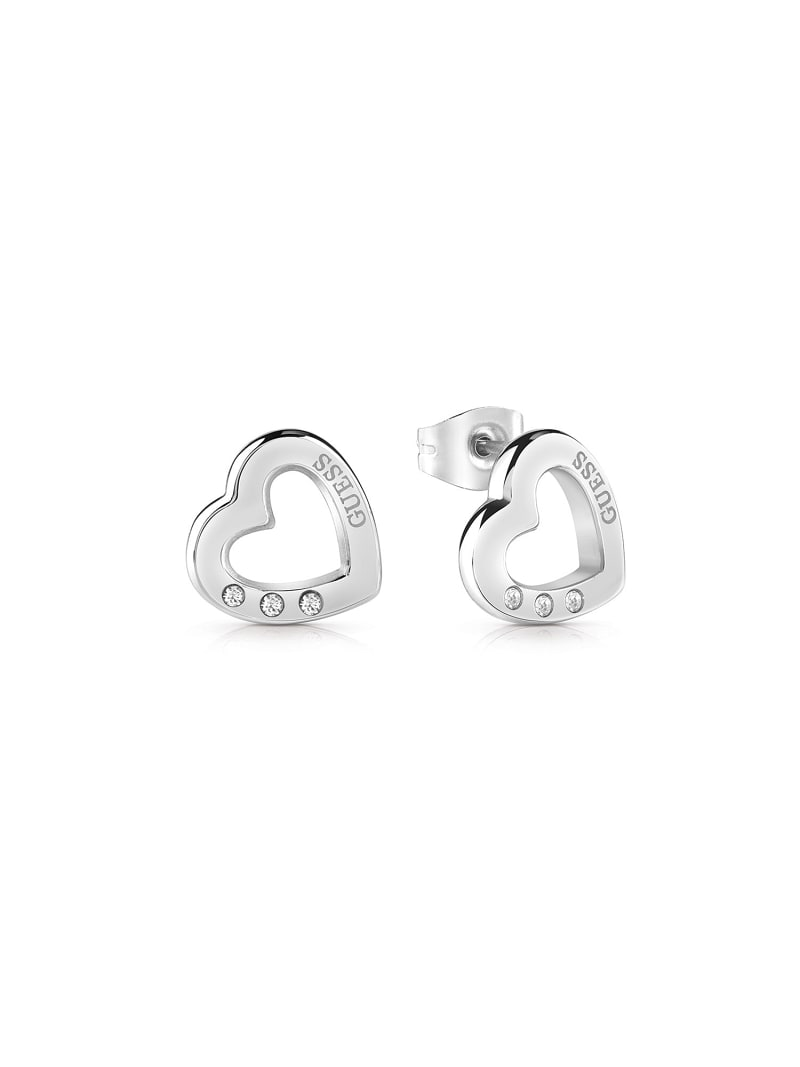 BOUCLES D'OREILLES HEARTED CHAIN COEUR image number 0