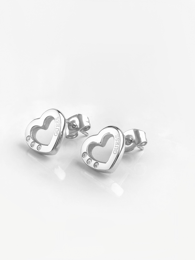 BOUCLES D'OREILLES HEARTED CHAIN COEUR image number 1