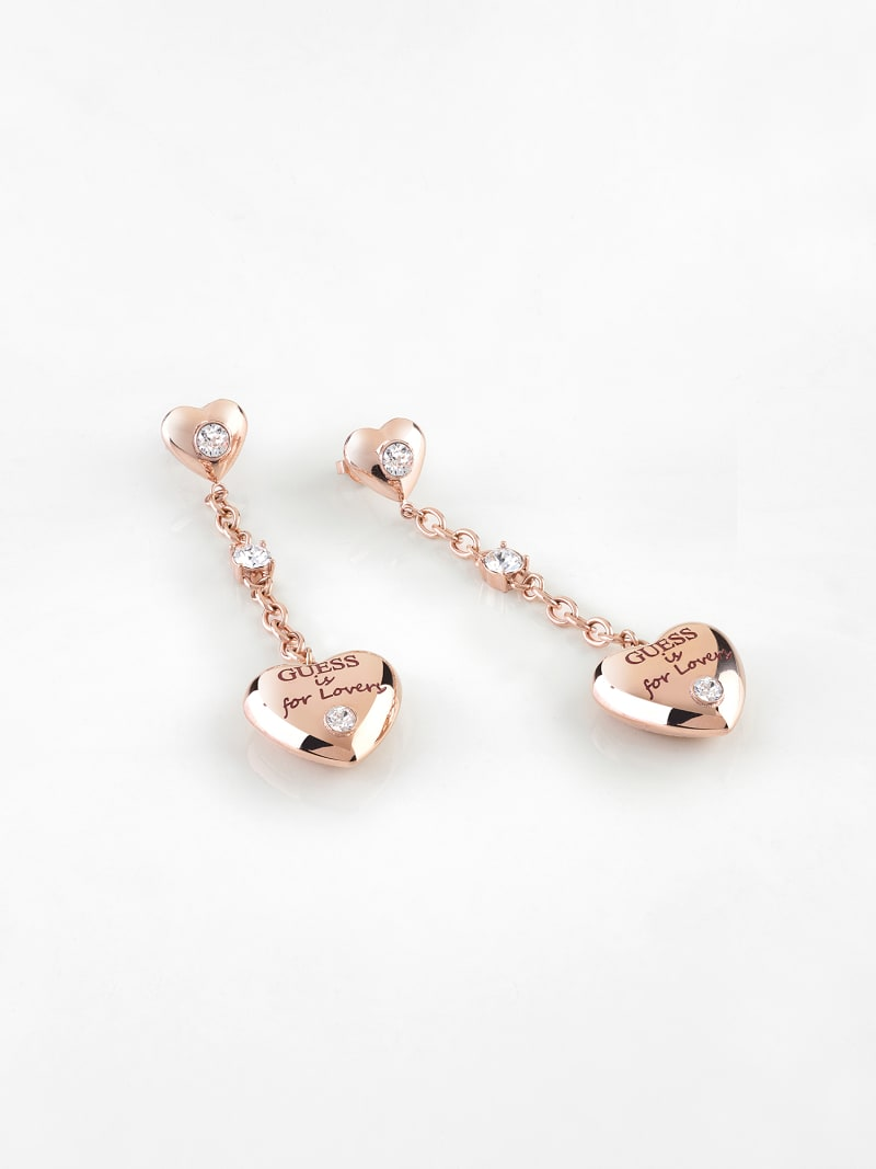 """GUESS IS FOR LOVERS"" EARRINGS image number 0"