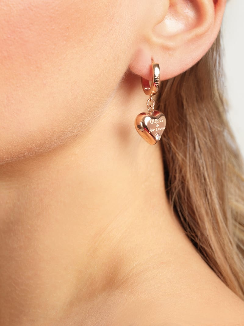 """GUESS IS FOR LOVERS"" EARRINGS image number 1"