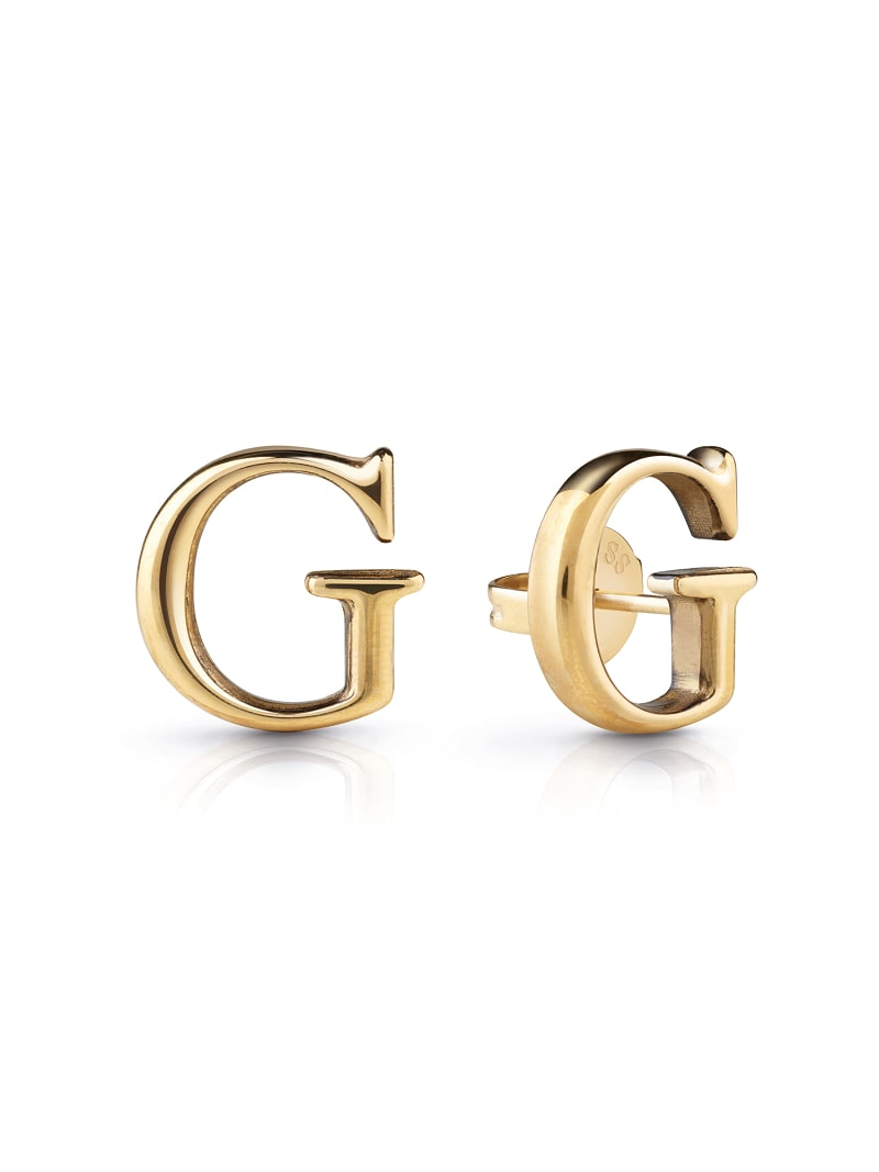 """""""G GOLD"""" EARRINGS image number 0"""