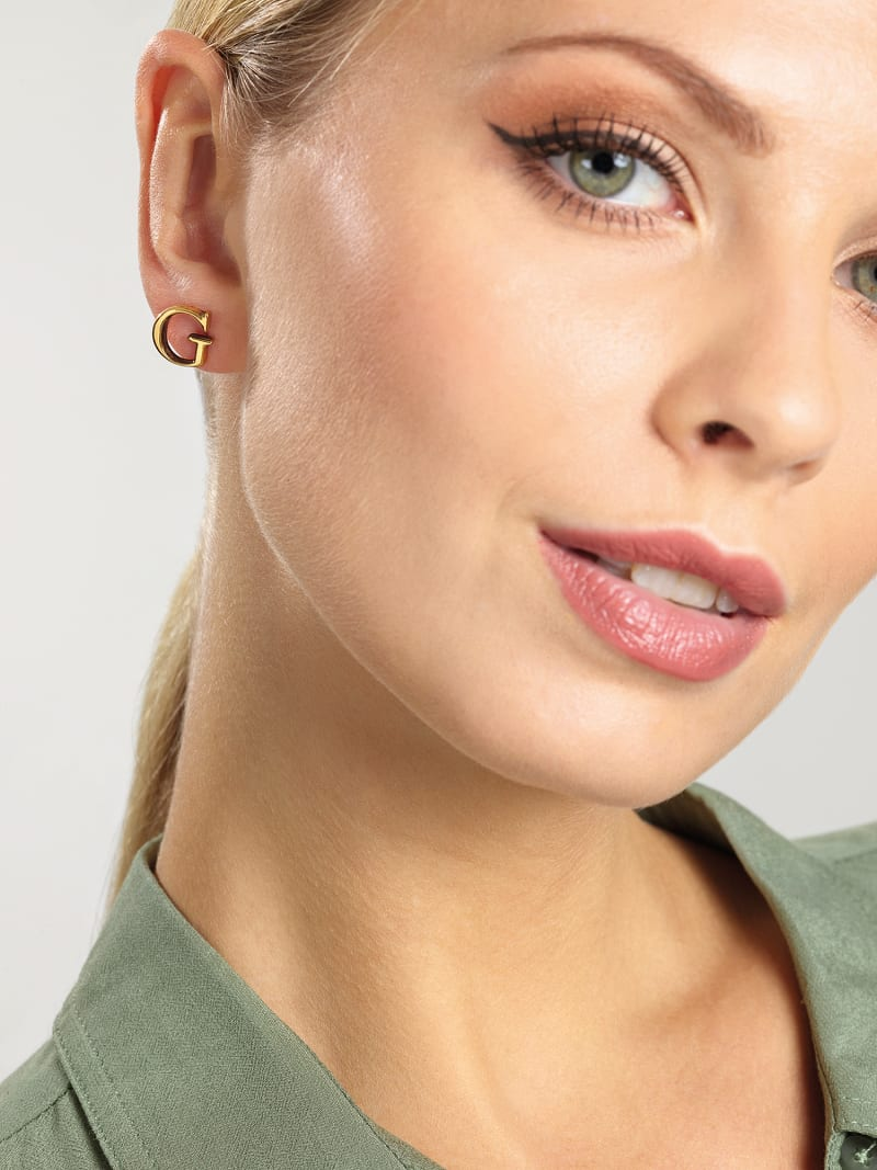 """""""G GOLD"""" EARRINGS image number 1"""