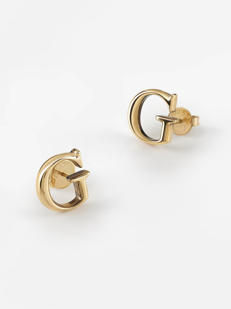 """""""G GOLD"""" EARRINGS image number 2"""