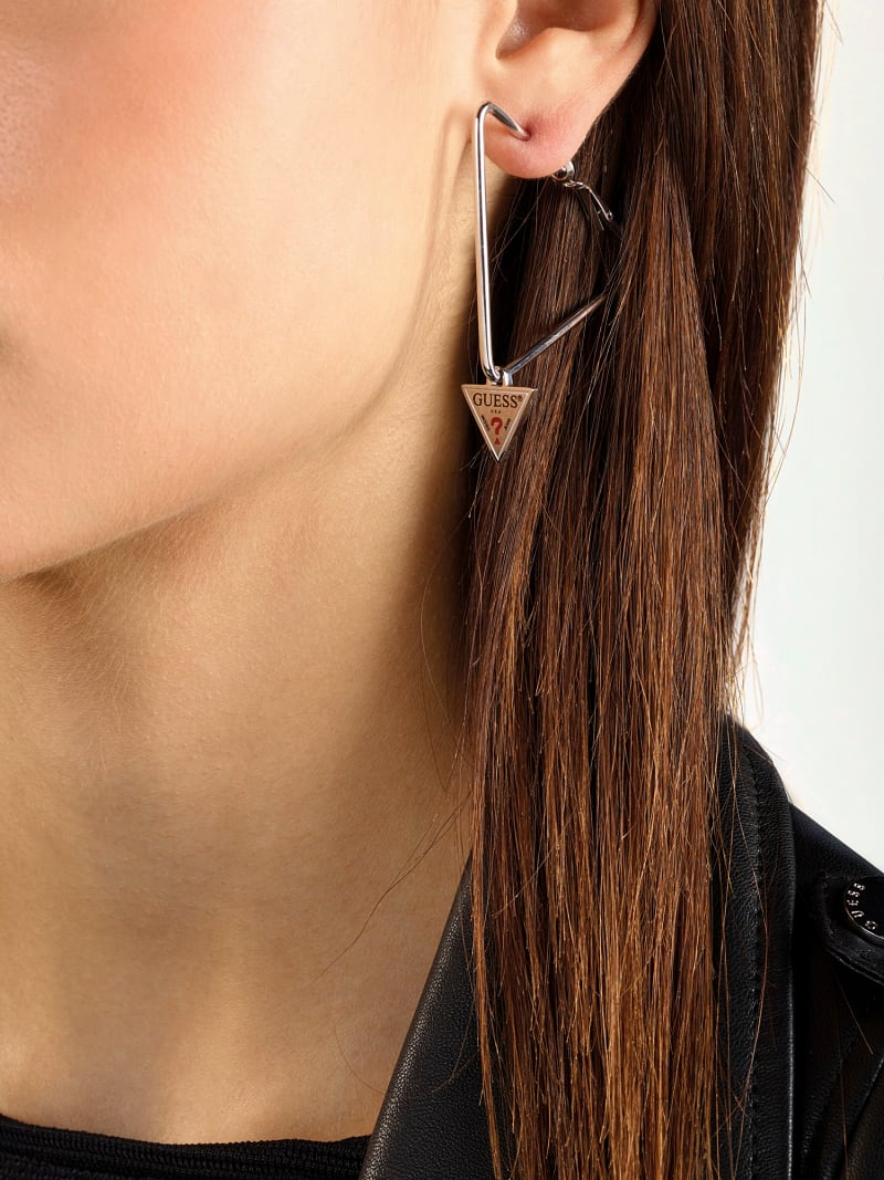 """BOUCLES D'OREILLES """"HULA HOOPS"""" image number 1"""