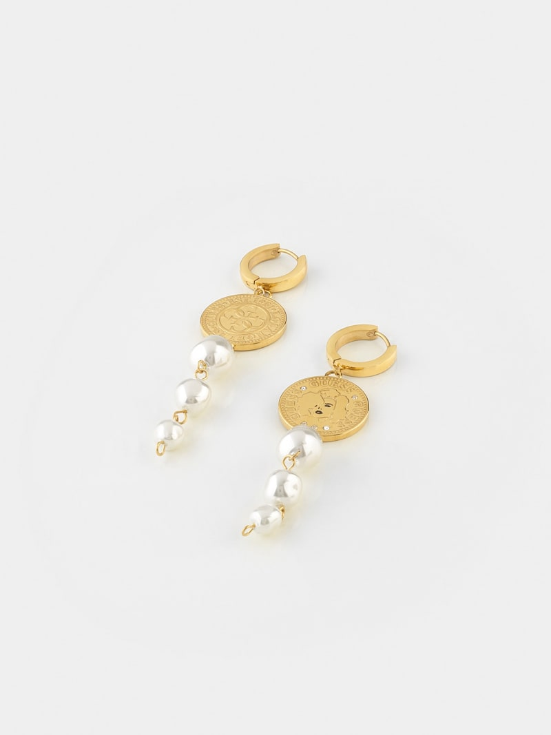 """""""GUESS COIN"""" EARRINGS image number 0"""