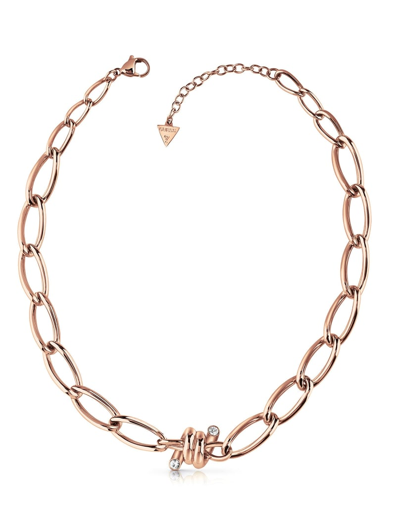 LOVE WIRE BARBED WIRE NECKLACE image number 0