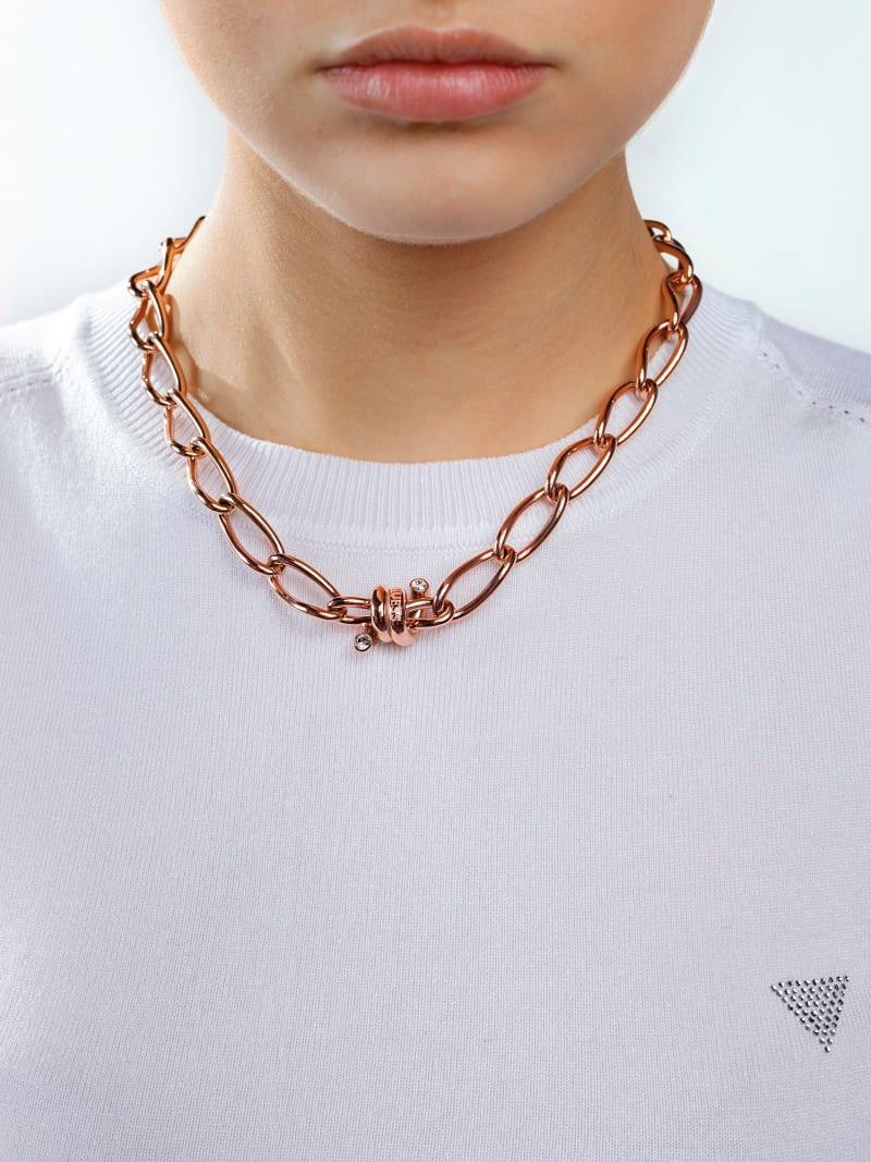 LOVE WIRE BARBED WIRE NECKLACE image number 2
