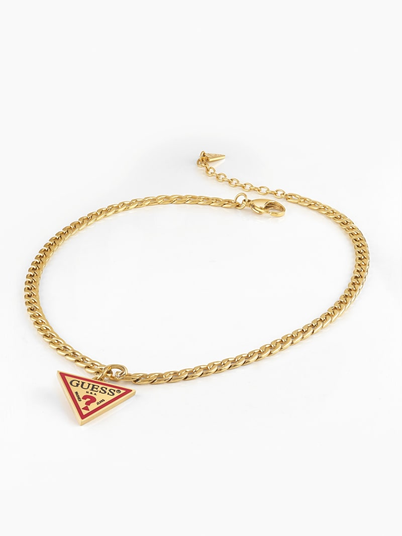 L.A. GUESSERS  LOGO NECKLACE  image number 1