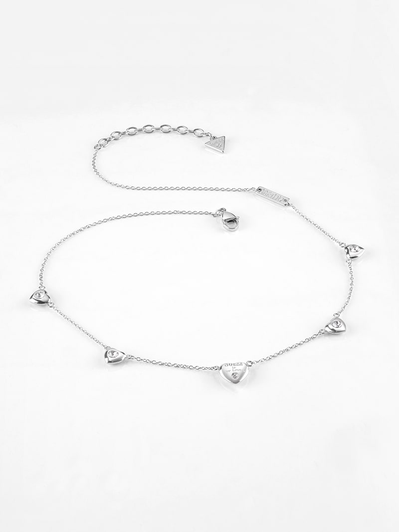 """GUESS IS FOR LOVERS"" NECKLACE image number 0"