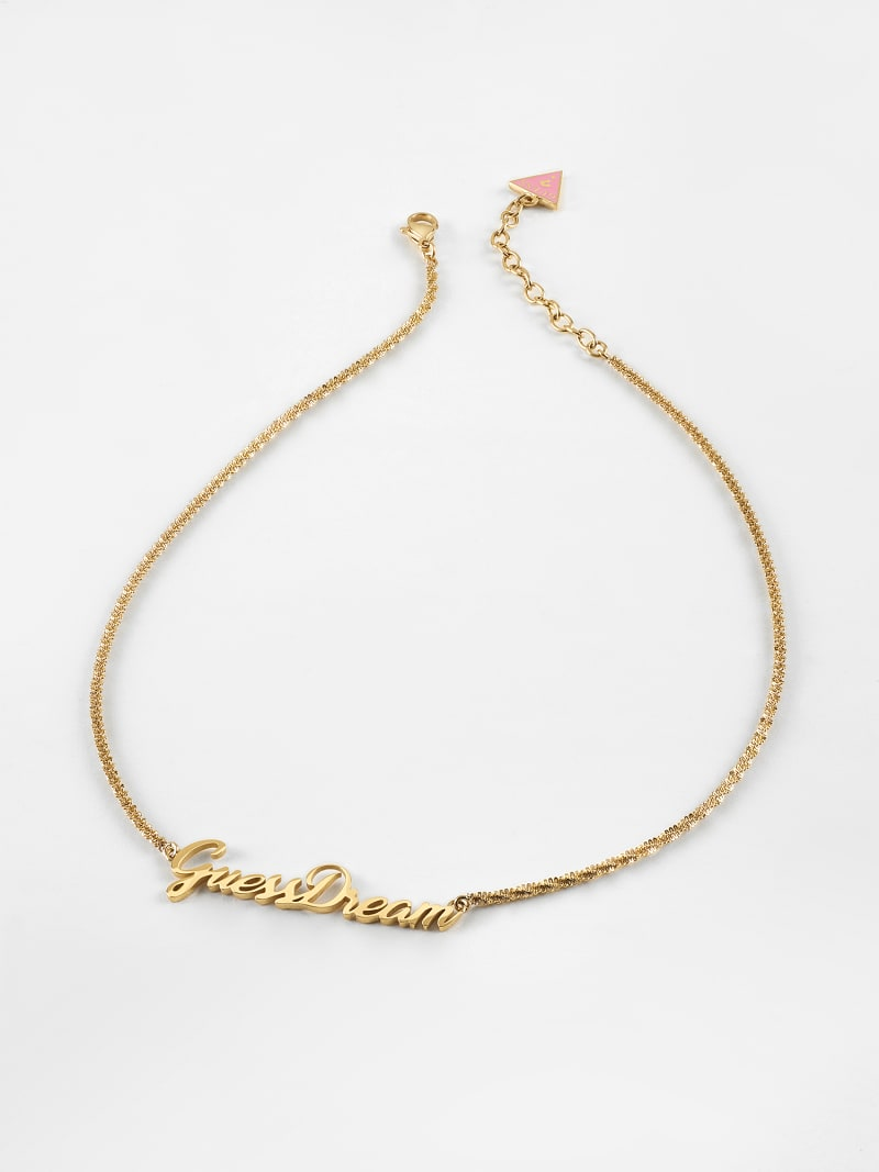 """""""DREAM & LOVE"""" NECKLACE image number 0"""