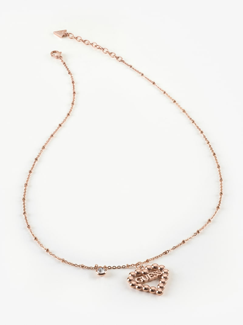 """""""HEART ROMANCE"""" NECKLACE image number 0"""