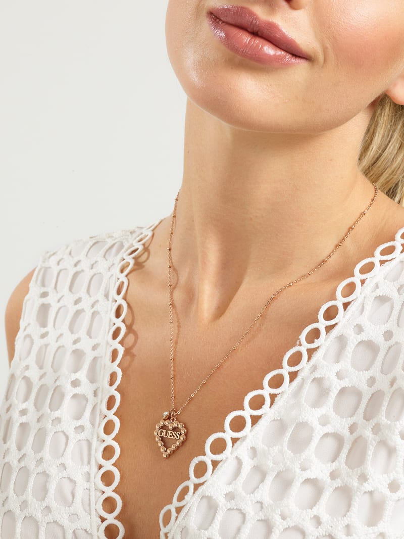 """""""HEART ROMANCE"""" NECKLACE image number 1"""