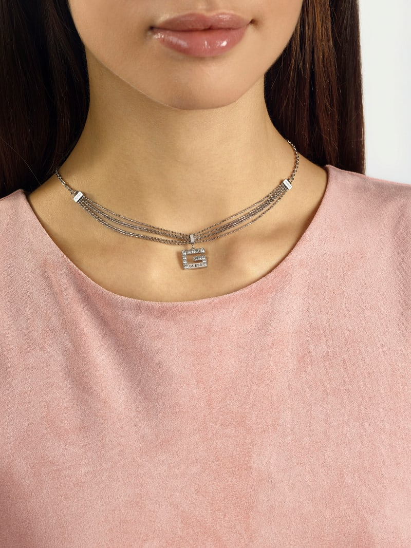 "COLLAR ""G MULTI CHAIN"" image number 1"