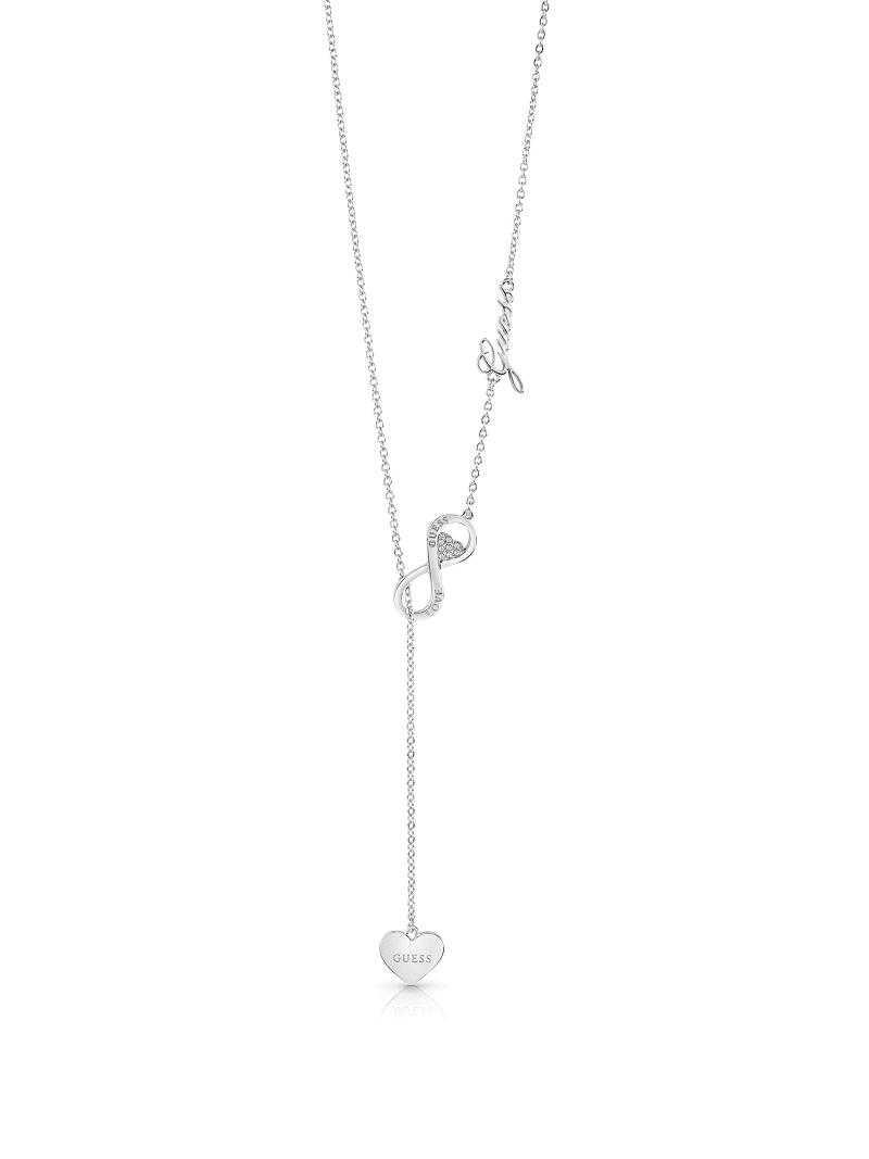 ENDLESS LOVE HEART NECKLACE image number 0
