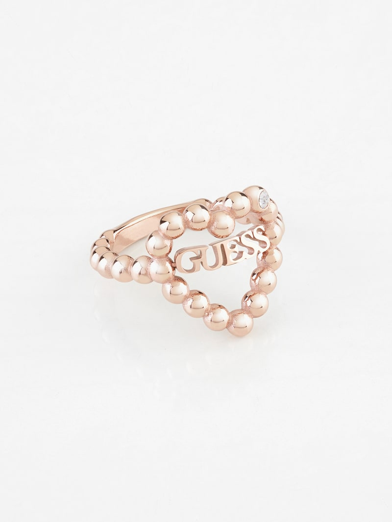 """""""HEART ROMANCE"""" RING image number 0"""