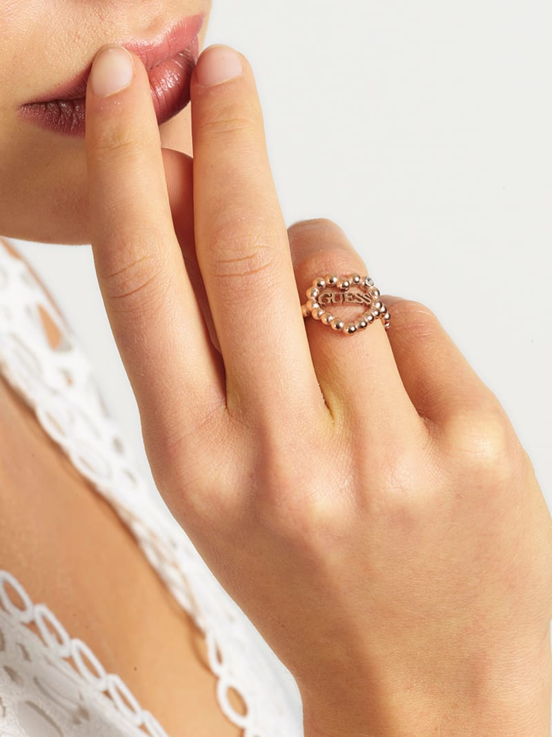 """""""HEART ROMANCE"""" RING image number 1"""